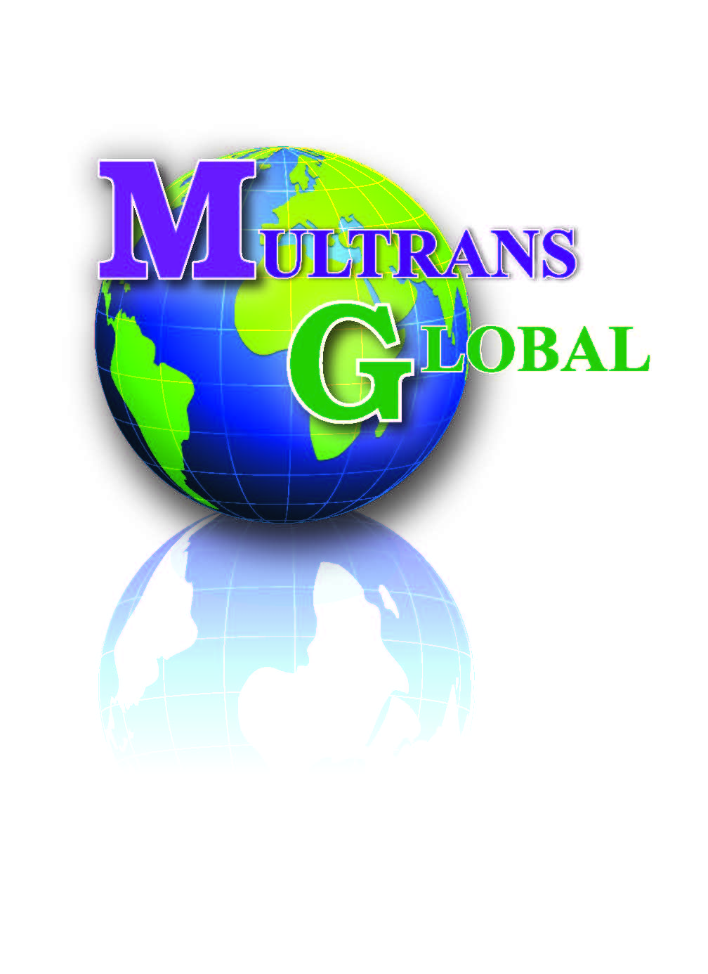 Multrans global logo