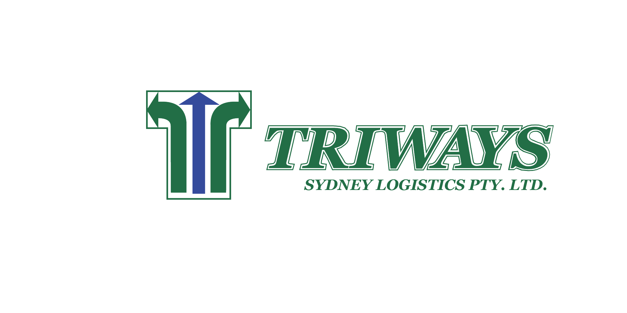 Triways logistics logo